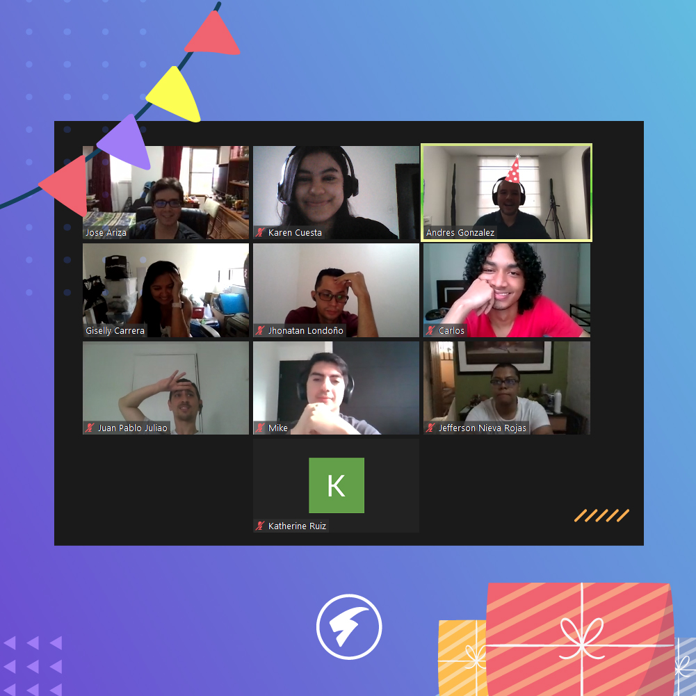 Remote Team Building Activities: Birthday Celebration